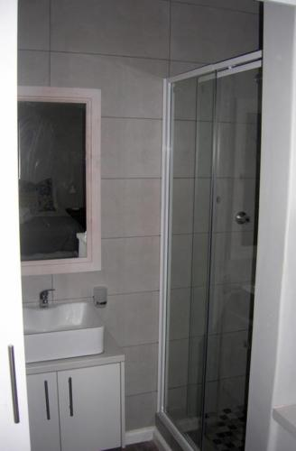 Newly built bathroom